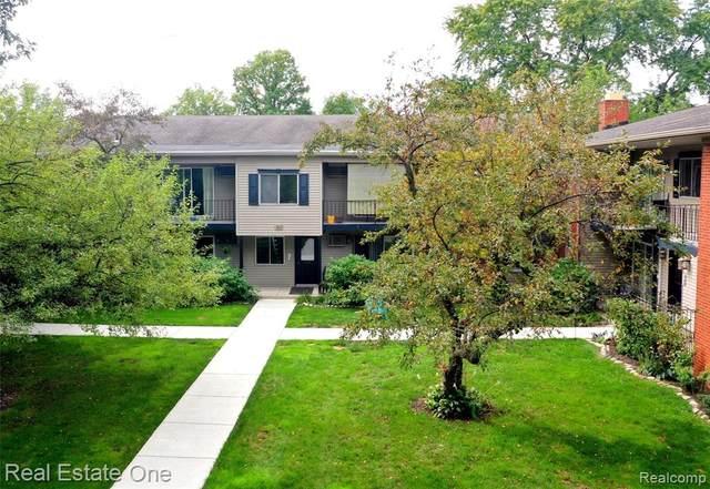 3927 Benjamin Ave Apt 2, Royal Oak, MI 48073 (#2200076135) :: The BK Agency