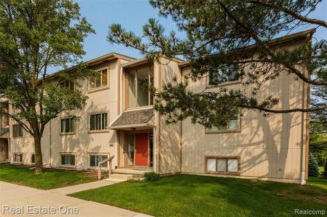 1665 Riverside Dr Apt 12 #12, Rochester Hills, MI 48309 (#2200076988) :: Novak & Associates