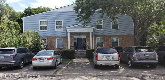 527 E University Dr Apt 1102, Rochester, MI 48307 (#2200077284) :: Duneske Real Estate Advisors