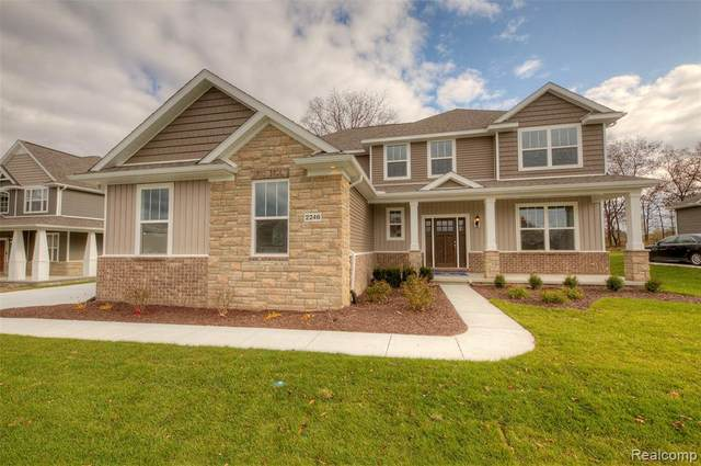 2189 Walnut View Drive (Homesite 22), Hartland Twp, MI 48855 (#2200077286) :: Novak & Associates