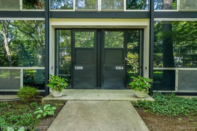 1366 Joliet Place, Detroit, MI 48207 (#2200077305) :: Novak & Associates