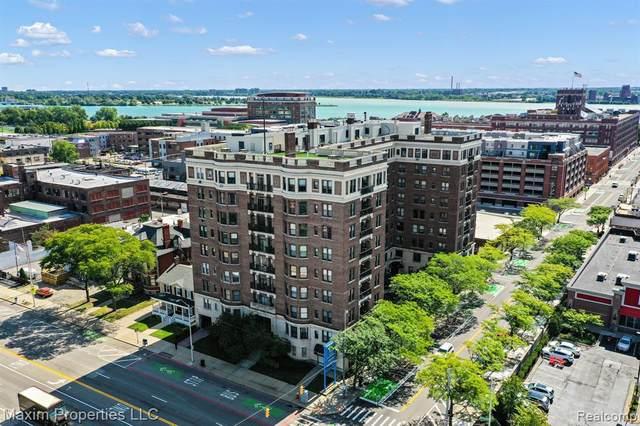 2900 E Jefferson Ave Avenue A4, Detroit, MI 48207 (#2200077349) :: RE/MAX Nexus