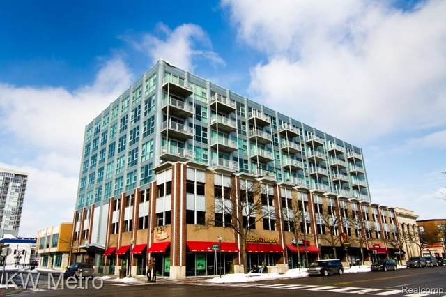 100 W 5TH Street #508, Royal Oak, MI 48067 (#2200077664) :: The Alex Nugent Team | Real Estate One