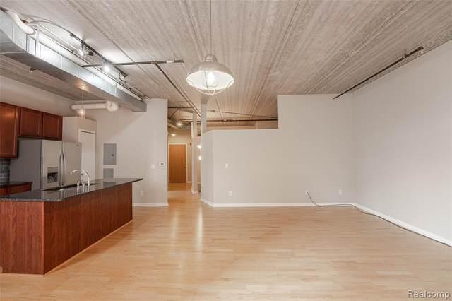 66 Winder Unit 15 Street, Detroit, MI 48201 (#2200077781) :: Alan Brown Group