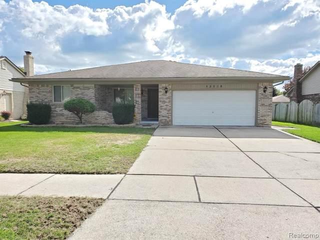13820 Diversion Drive, Sterling Heights, MI 48313 (#2200077844) :: GK Real Estate Team