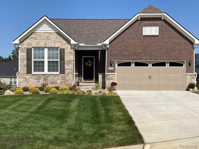 5024 Brookridge Drive, Independence Twp, MI 48348 (#2200078084) :: RE/MAX Nexus