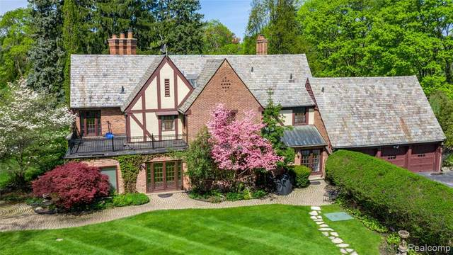 1370 Country Club Road, Bloomfield Hills, MI 48304 (#2200078129) :: Alan Brown Group