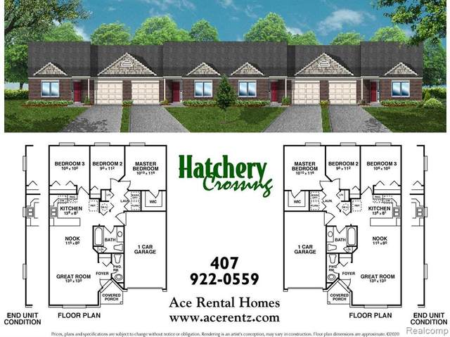 2455 Hatchery Crossing Drive, Waterford Twp, MI 48329 (MLS #2200078200) :: The John Wentworth Group
