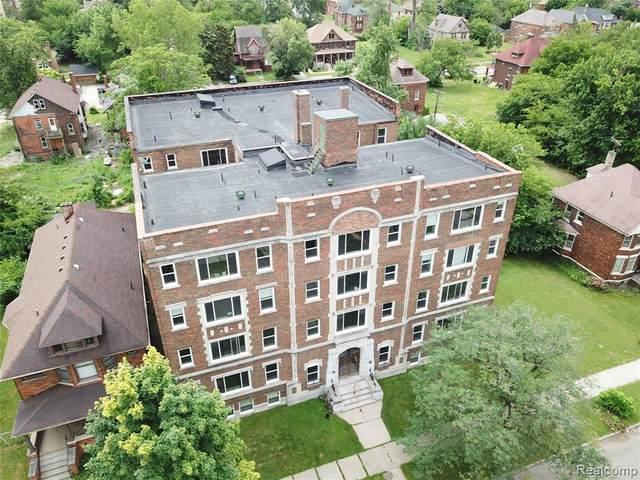 655 Hazelwood Street, Detroit, MI 48202 (#2200078310) :: BestMichiganHouses.com