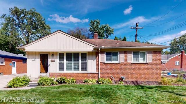 3110 Sylvan Dr, Royal Oak, MI 48073 (#2200078531) :: RE/MAX Nexus