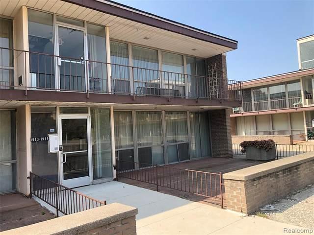 1989 Orleans Street #32, Detroit, MI 48207 (#2200078643) :: GK Real Estate Team
