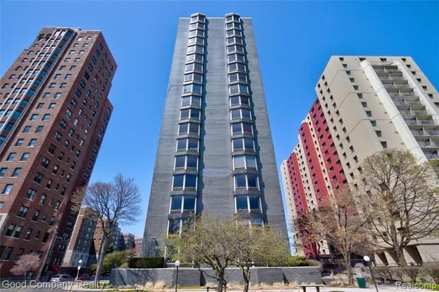 8200 E Jefferson Avenue #208, Detroit, MI 48214 (#2200078725) :: GK Real Estate Team