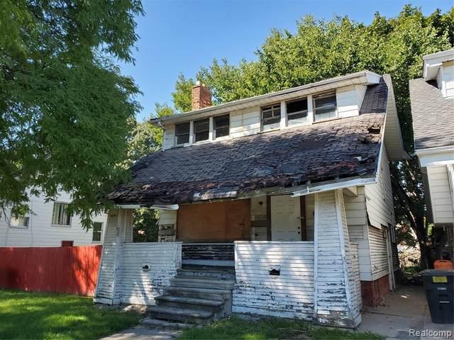 5016 Maplewood Street, Detroit, MI 48204 (#2200078795) :: The Alex Nugent Team | Real Estate One