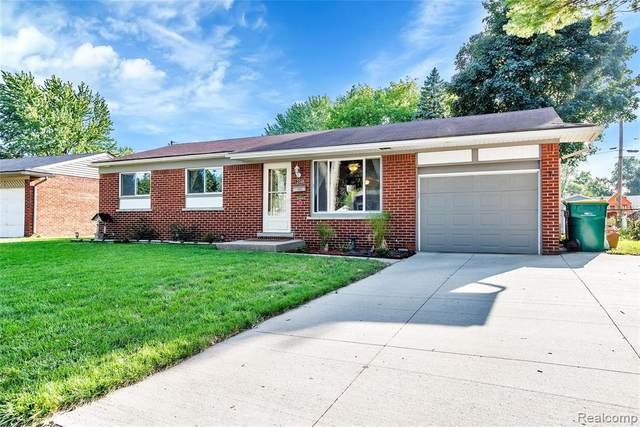 12048 Burtley Drive, Sterling Heights, MI 48313 (#2200079009) :: GK Real Estate Team