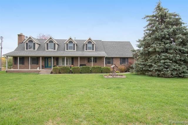 3480 Lake George Road, Addison Twp, MI 48367 (#2200079338) :: Robert E Smith Realty