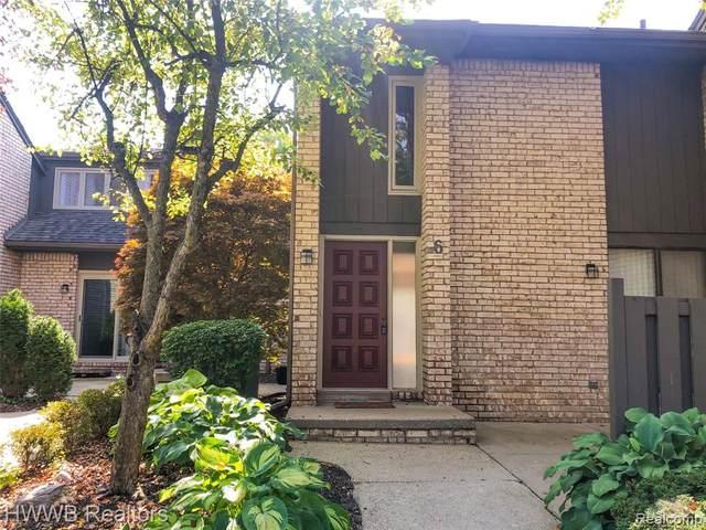 41350 Woodward Ave #6, Bloomfield Hills, MI 48304 (#2200079749) :: Duneske Real Estate Advisors