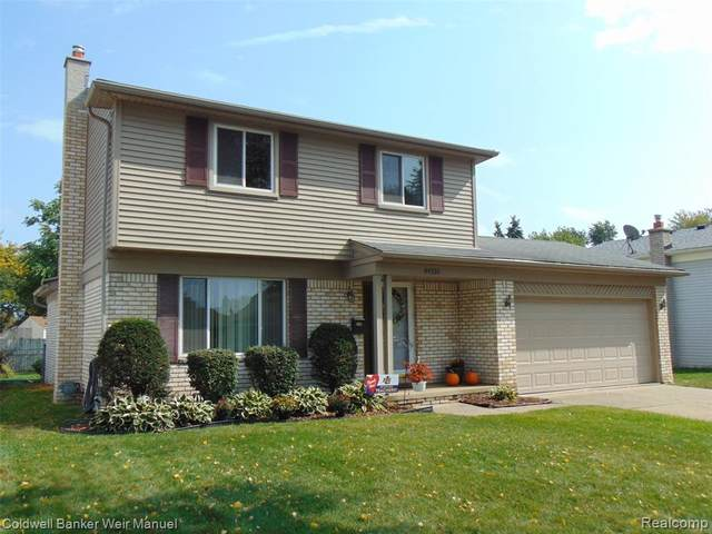 44316 Whithorn Drive, Sterling Heights, MI 48313 (#2200079935) :: RE/MAX Nexus