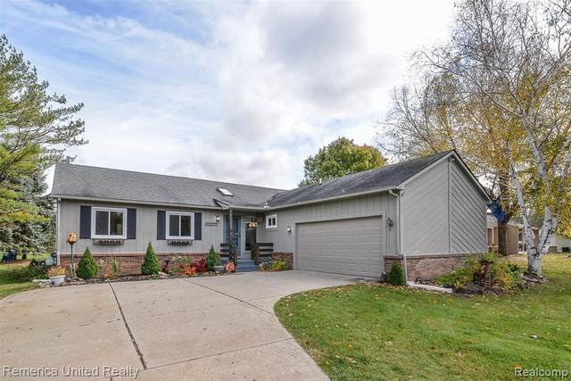 3419 Watersedge Drive, Brighton Twp, MI 48114 (#2200080059) :: The Mulvihill Group