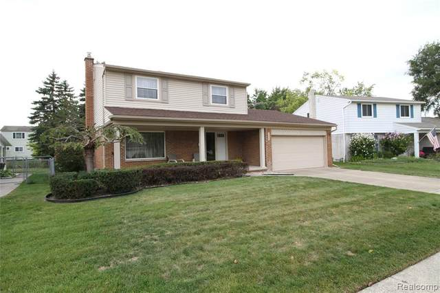 40291 Lizabeth Drive, Sterling Heights, MI 48313 (#2200080089) :: RE/MAX Nexus
