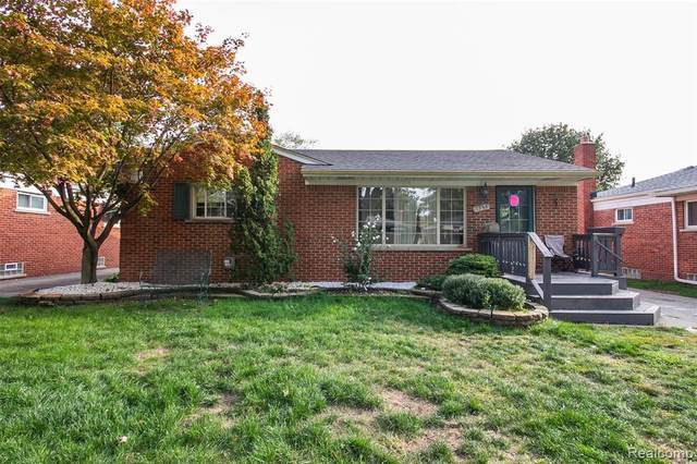 1358 Cynthia Ave Avenue, Madison Heights, MI 48071 (#2200080354) :: Alan Brown Group