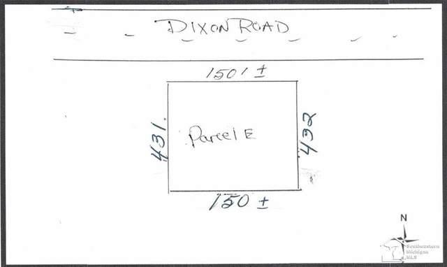 0 Dixon, Raisinville Twp, MI 48162 (#57050024887) :: The Mulvihill Group