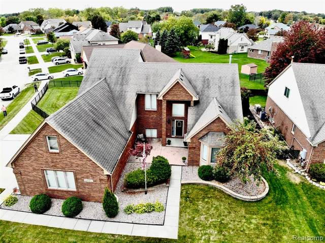 55665 Placid Drive, Macomb Twp, MI 48042 (MLS #2200080794) :: The John Wentworth Group