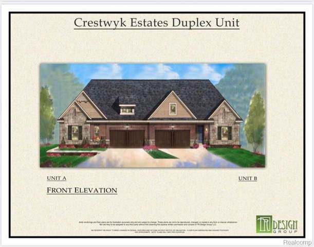 0000 Crestwyk Lane B, Rochester Hills, MI 48307 (#2200081004) :: The Mulvihill Group
