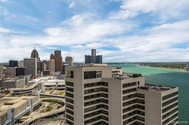 300 Riverfront Drive 21E, Detroit, MI 48226 (#2200081028) :: The Mulvihill Group