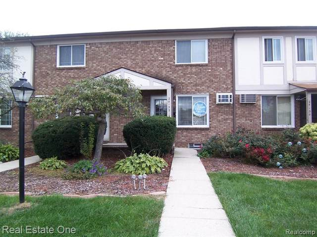 25133 Franklin Terrace Unit 5, South Lyon, MI 48178 (#2200081256) :: Keller Williams West Bloomfield