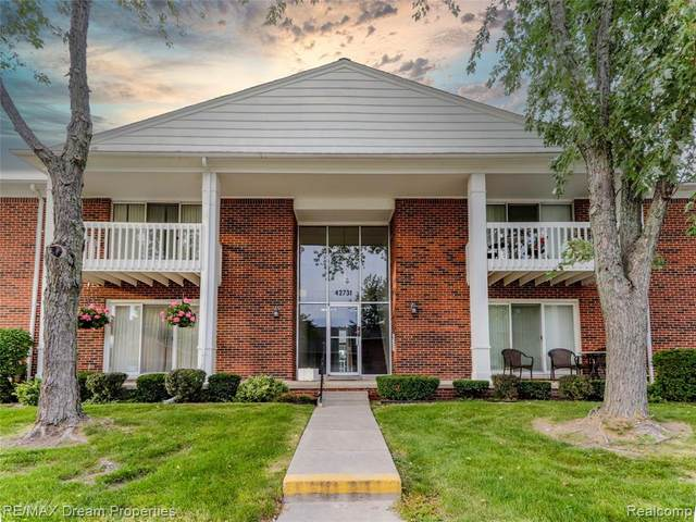 42731 Sheldon Pl Apt 124, Clinton Twp, MI 48038 (#2200081267) :: Alan Brown Group
