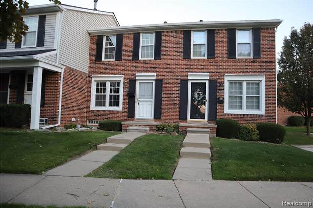 36404 Park Place Drive, Sterling Heights, MI 48310 (#2200081577) :: Alan Brown Group