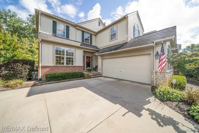 3697 Winding Brook Circle, Rochester Hills, MI 48309 (#2200082035) :: Novak & Associates