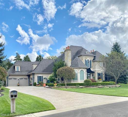 16 Old Course Road, ST. CLAIR TWP, MI 48079 (#2200082237) :: BestMichiganHouses.com