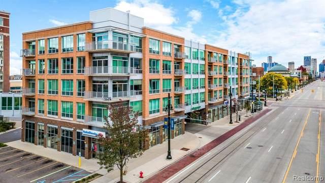 3670 Woodward Avenue #304, Detroit, MI 48201 (#2200082380) :: RE/MAX Nexus
