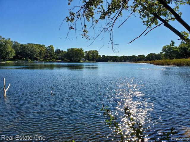 Lot C Clintonville Road, Waterford Twp, MI 48329 (#2200082636) :: The Mulvihill Group