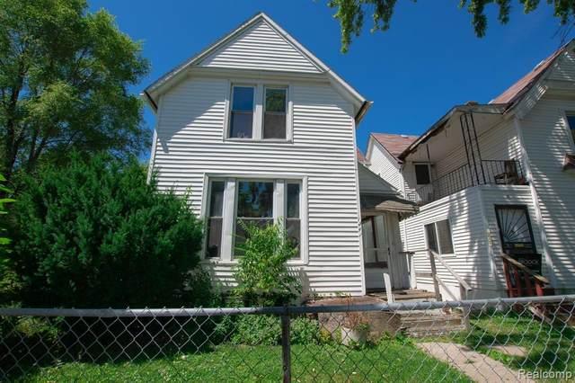 1241 Meldrum Street, Detroit, MI 48207 (#2200082721) :: The Merrie Johnson Team