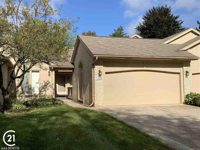 43075 W Kirkwood Dr, Clinton Twp, MI 48038 (#58050025670) :: Keller Williams West Bloomfield