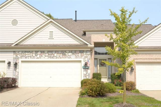 39466 Champion Court, Northville, MI 48168 (MLS #2200083313) :: The John Wentworth Group