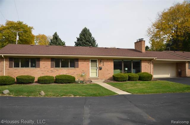 124 E Hickory Grove Rd Apt 20, Bloomfield Hills, MI 48304 (#2200084043) :: Keller Williams West Bloomfield