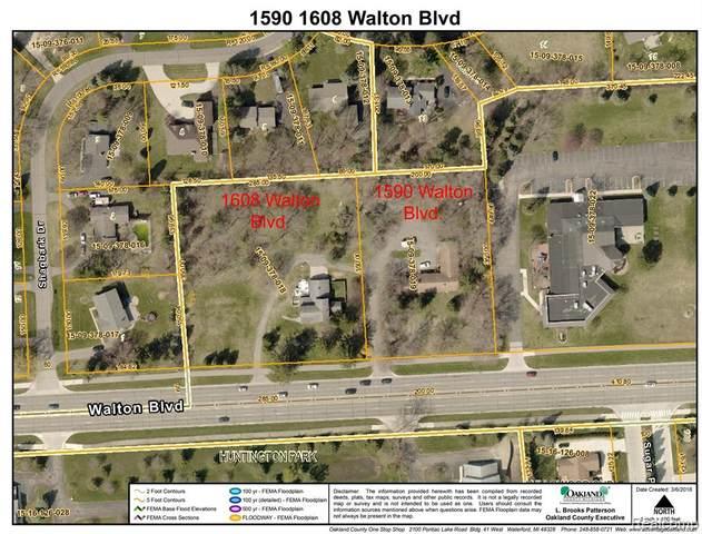 1608 Walton Boulevard, Rochester Hills, MI 48309 (#2200084230) :: NextHome Showcase