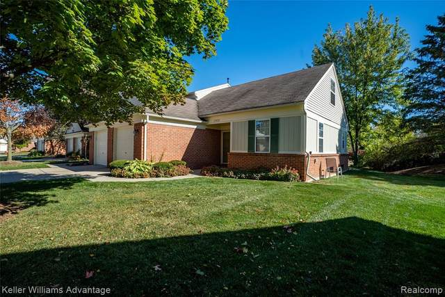 1745 Christopher Drive, Canton Twp, MI 48188 (MLS #2200084489) :: The John Wentworth Group
