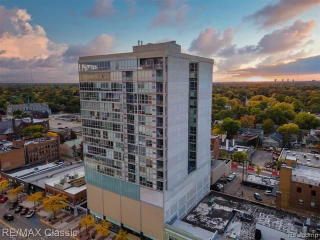 432 S Washington Ave Unit 907 Avenue #907, Royal Oak, MI 48067 (#2200084751) :: Alan Brown Group