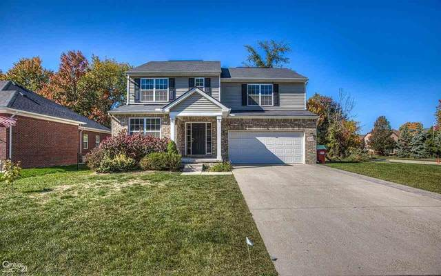 51725 Leshan Dr., Chesterfield Twp, MI 48047 (#58050026309) :: Alan Brown Group
