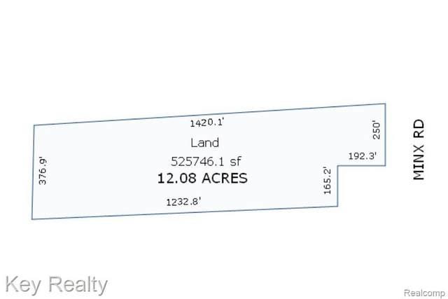 00000 Minx Road, Ida Twp, MI 48140 (#2200085105) :: Real Estate For A CAUSE