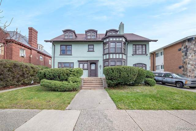 678 Parker Street, Detroit, MI 48214 (#2200085180) :: Duneske Real Estate Advisors