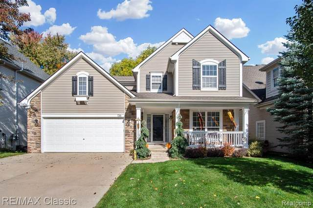 136 Turnberry Court, Milford Vlg, MI 48381 (#2200085501) :: The Mulvihill Group