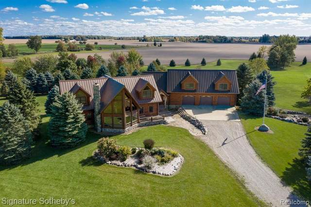 6340/6350 Wolf Road, Brown City, MI 48416 (MLS #2200085571) :: The John Wentworth Group