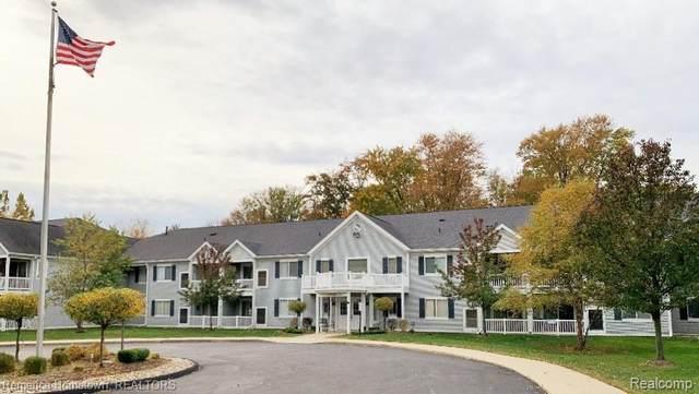 1127 S. Lake Drive - Building #A - Unit 105 #105, Novi, MI 48377 (#2200085592) :: Novak & Associates