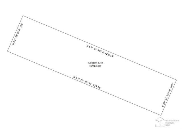215 N Raisinville Rd, Raisinville Twp, MI 48162 (#57050026527) :: The Mulvihill Group