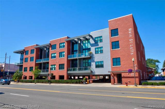 111 N Main St Unit 311, Royal Oak, MI 48067 (MLS #2200085744) :: The John Wentworth Group